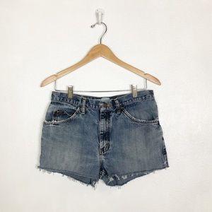 Lee cutoff jean shorts